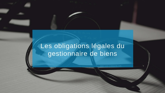 obligation agence immobilière gestion locative