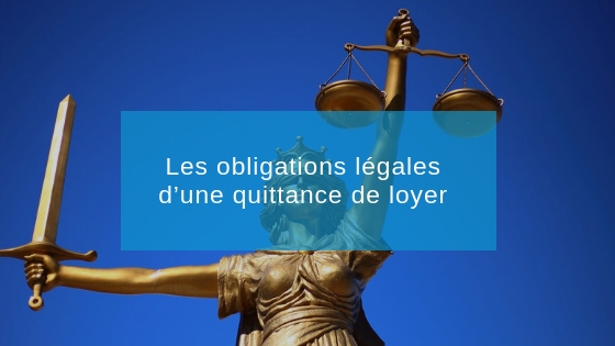 obligation légale quittance de loyer